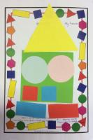 Aut 1: Using shapes to make a picture and able to name all the shapes.