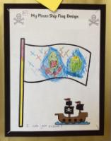 Aut 1: Designing a pirate ship flag.