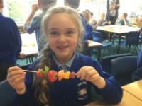 Aut 1: Designing and making fruit kebabs for a visiting alien.