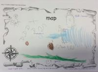 Aut 2: Draw a simple map and add labels.
