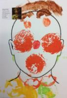 Aut 1: Face printing using real fruit and vegetables inspired by Giuseppe Archimboldo.