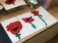 Aut 2: 'Remembrance Day' art work.