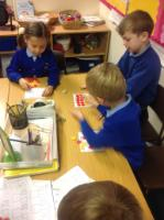 Aut 2: Partitioning numbers to 20 using tens frames.