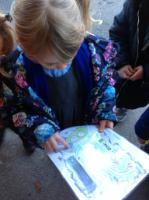 Aut 2: Using maps to find treasure in the nursery garden.