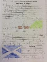 Aut 2: Write interesting sentences to explain why St. Andrew's day is celebrated.