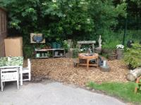 52 Nursery (3 and 4 year old outdoor provision) - Mud Kitchen