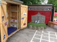 54 Nursery (3 and 4 year old outdoor provision) - Music Area and Stage