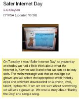 Spr 1: Safer Internet Day.