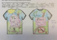 Spr 1: To design a T-shirt that encourages people to 'Save the Rainforest'.