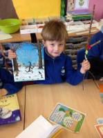 Spr 2:  Celebrating World Book Day by sharing props from our favourite stories.