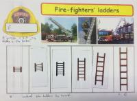 Spr 2: Independently ordering ladders from shortest to tallest.