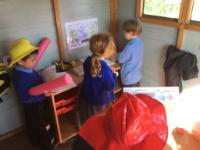 Spr 2: Using maps in the role play firestation to find 'fires' in the Nursery grounds