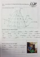 Sum 1: Draw and label own playground model and describe how it was made.