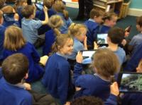 Sum 1: Using 'Google Expeditions' App on iPads in Year 1
