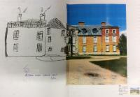 Sum 2: Complete a sketch of Dunham Massey using graphite thinking about shape and shading.