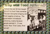 Why was food rationed?