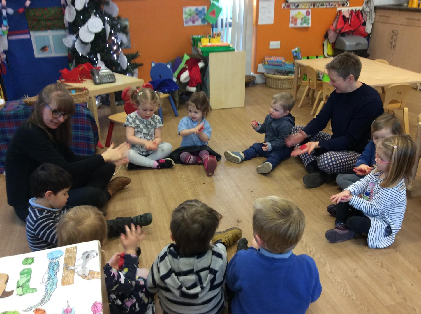 A Typical Day in Cygnets - Dough Disco